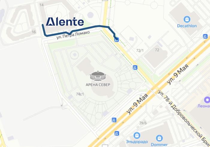 контакты веб-студии Аленте